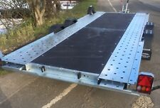 """Woodford Trailers Wide Body 131 with Tilt and Ramps 16' x 6'6"""" bed"""