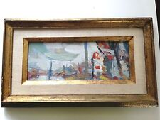 Anthony Toney Original Abstract Oil Painting Brewster NY 1960's  In great frame