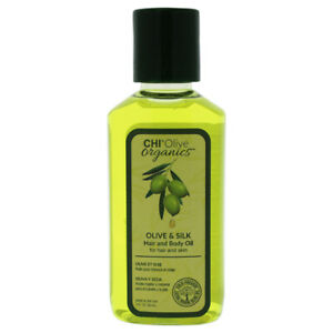 Olive Organics Hair and Body Oil by CHI for Unisex - 2 oz Oil