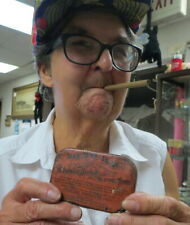 vintage anti tobacco tin / pills to stop smoking cure impoterncy Wheeling W. VA