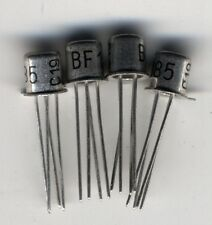 Lot de 4 x BF185 npn transistors TO72 Telefunken