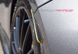 Mercedes A Class Gold Stripe Carbon Fibre Rear Splash Guards - A45 AMG A250 W176