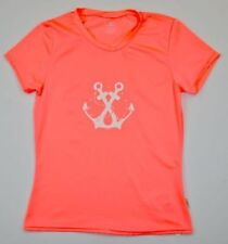 NWT ONeill  Womens Stormy Way Rash Tee Bright Peach Small