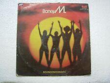 BONEY M BOONOONOONOOS  RARE LP RECORD vinyl  INDIA INDIAN ex