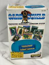 Vintage Royal Sovereign Lamination System Sports Card Shield Removable