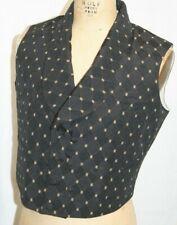 1850-1860 Victorian Civil War Double Breasted Civilian Shawl Collar Vest size 42