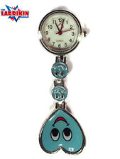NURSES,DOCTORS, ORDERLY Happy Blue Face Watch, Great Xmas Present Gift
