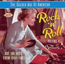 The Golden Age of American Rock 'n' Roll, Vol. 4 by Various Artists (CD, Oct-199