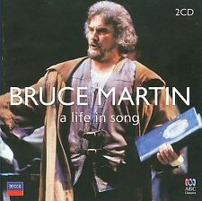 Bruce Martin A Life in Song 2 Discs ABC Classics Cd