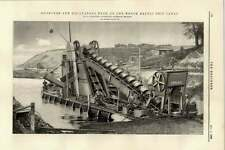 1895 Dredgers Excavators North Baltic Ship Canal Apollo Smulders Slikkerveer