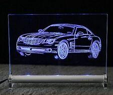 Chrysler Crossfire  front LED Schild Acryl AutoGravur