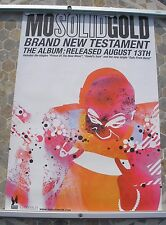 MO SOLID GOLD Brand New Testament  promo poster 30 x 20 2001