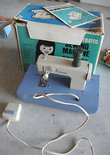 RARE Vintage 1960s Pennys Battery Operated Childrens Sewing Machine in Box