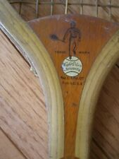 New listing Early 1900s WRIGHT & DITSON HUB TENNIS RACKET - Surprise Logo