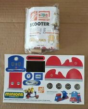 HOME DEPOT KIDS WORKSHOPS MINIONS SCOOTER W/ STICKERS Great Gift for Holidays