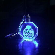 KPOP SHINEE Keychain SHINee World LED Light Crystal Pendant Keyring Gift