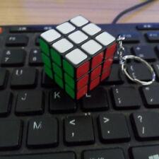 Mini 30mm Lock Keychain Rubik's Cube 3x3x3 Magic Speed Cube 30mm Puzzle Twist