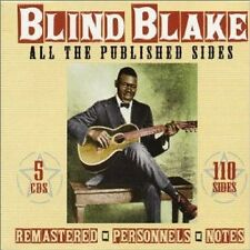 Blind Blake - All the Published Sides [New CD] Boxed Set