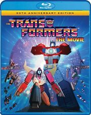 TRANSFORMERS THE MOVIE New Sealed Blu-ray 30th Anniversary Edition