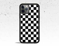 Black & White Checkered Phone Case for Apple iPhone iPod & Samsung