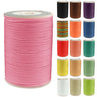 USEFUL 0.8mm Waxed Linhasita Cord Macrame Bracelet Thread String Cord