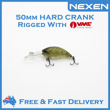 NEXEN Hardbody Crank Bream Bass Lure for Saltwater Freshwater as Daiw Zipbai
