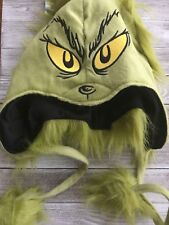 Dr Seuss the Grinch Hat Costume Laplander Peruvian Hat Hoodie Beanie