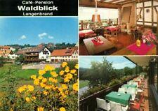 72355 Schömberg - Langenbrand  Café - Pension > Waldblick < 3 Ansichten 1974
