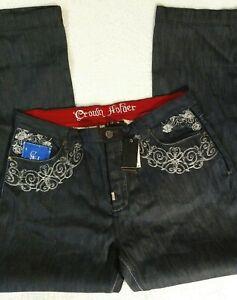 Crown Holder Regius Vestio RawBlue Denim Jeans Men's 42 NWT