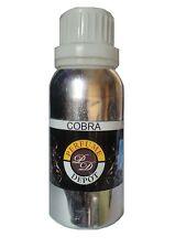 COBRA 100G/ 3.4oz Exclusive fragrance oil, Attar,Undiluted,PREMIUM BLEND
