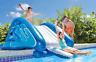 Inflatable Water Slide Summer Pool Fun Toy Outdoor Play Center Waterslide Splash