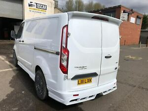 FORD TRANSIT CUSTOM REAR BUMPER MSTYLE+exhaust ends  (2014-2021)