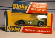 1976 Meccano Dinky toys England Green #5 McLaren M8A Can AM die cast model #223