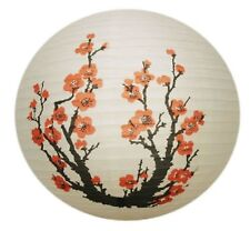 Round Paper Lantern Floral Design Lan013