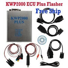 KWP 2000 Plus ECU REMAP Flasher Support KWP2000+ KWP/ISO Software Free Ship