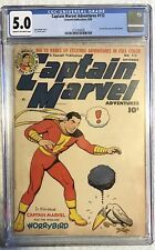 Captain Marvel Adventures #112 CGC 5.0