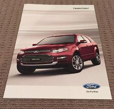 Ford Territory 2014 Sales Brochure