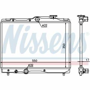 Kühler, Motorkühlung NISSENS 64839