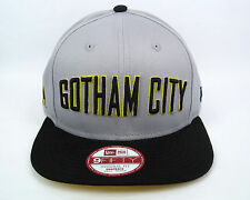NEW Era MEN'S DC COMICS BATMAN GOTHAM CITY 950 Cappellino-Taglia S/M
