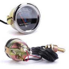 Analog 12V Auto Lkw Kühlwasser Temperaturanzeige Thermometer 38~104℃ 100~220 ℉