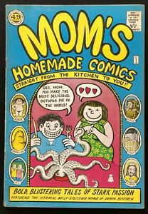 Mom's Homemade Comics - #1, 1969 1st Printing (VF+): Kitchen Sink - White pages