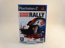 RICHARD BURNS RALLY SONY PS2 PLAYSTATION 2 PAL ITA ITALIANO ORIGINALE COMPLETO