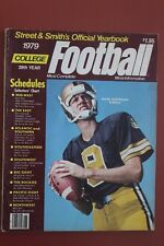 1979 STREET & SMITH MAGAZINE PURDUE BOILERMAKERS MARK HERMANN FOOTBALL COVER
