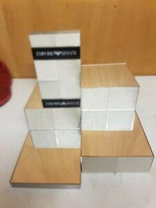 Giorgio armani Mirrored Shop Counter Display Sign