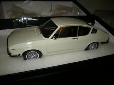 1:18 KK-modelo audi 100 coupé c1 White/blanco Limited Edition en OVP