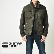 G-Star Raw - Rovic Overshirt Jacket - Green Grey Camo - M Medium - NEW