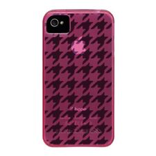 Case-Mate Gelli Houndstooth Cases for Apple iPhone 4/4S - Pink