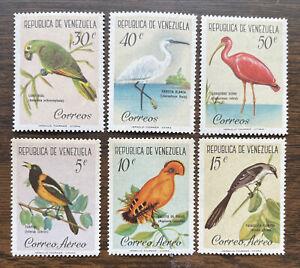 Venezuela 798-800, C776-8 MNH Birds