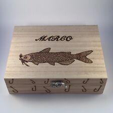 Fishing Tackle / MOBILE BOX con 10 GALLEGGIANTI regalo personalizzato per lui padri Giorno