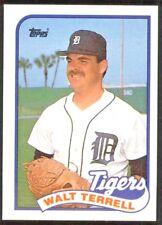Walt Terrell 1989 Topps #127 ~ Detroit Tigers Baseball Card